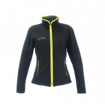 vrouwen ski fleece jas vanago