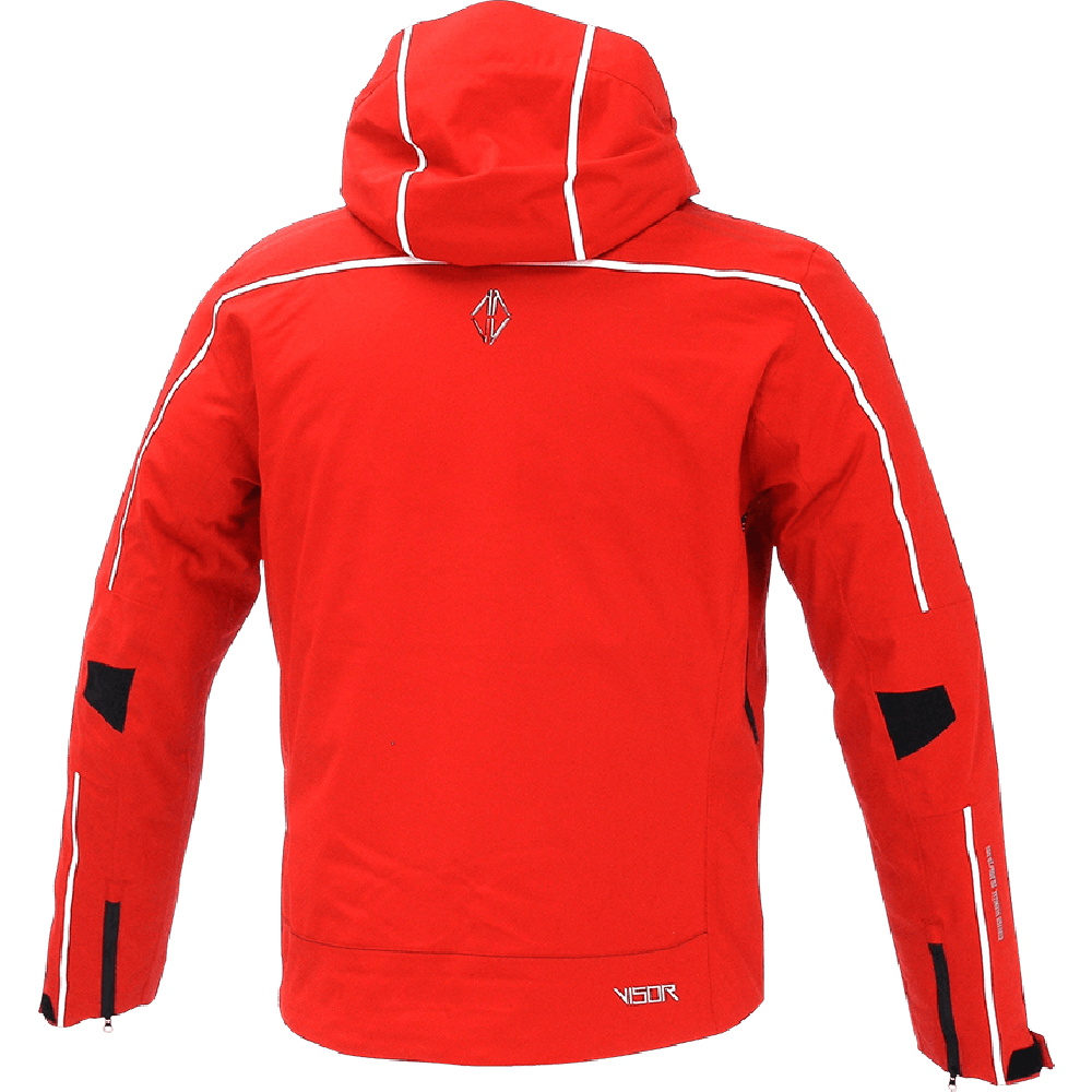 Men Edge Jacket red back