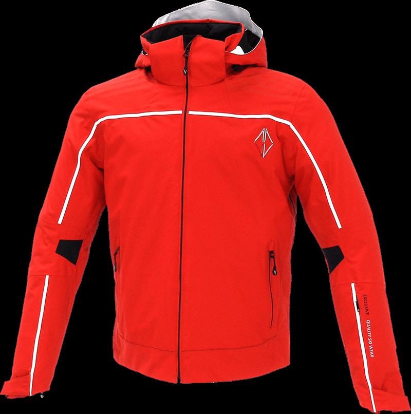 Men Edge Jacket red front
