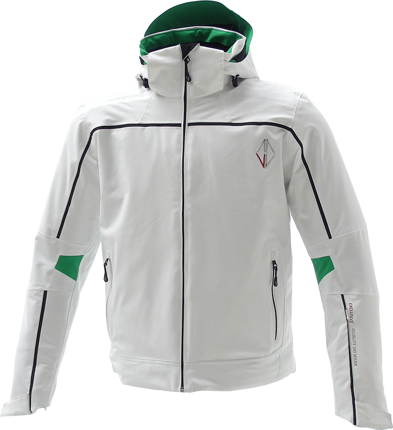 Men Edge Jacket white front