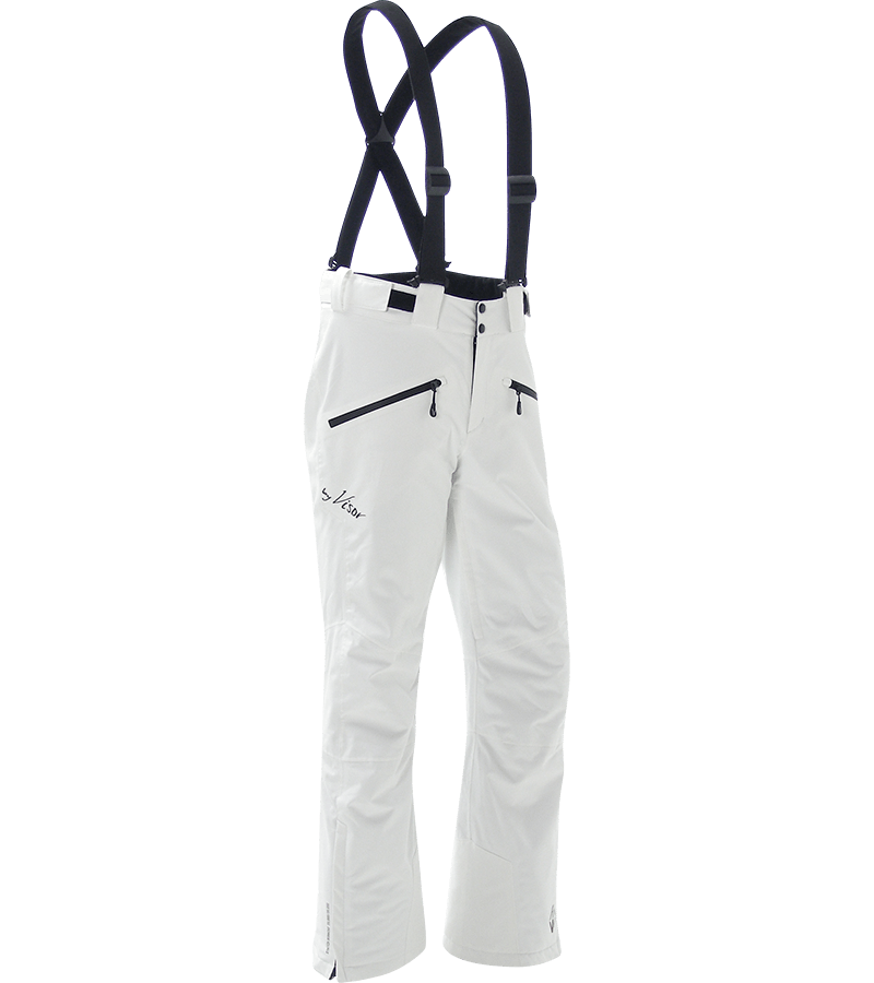 Men Elite Pants white front
