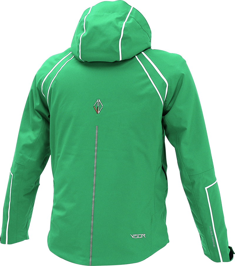 Men Legente Jacket green back