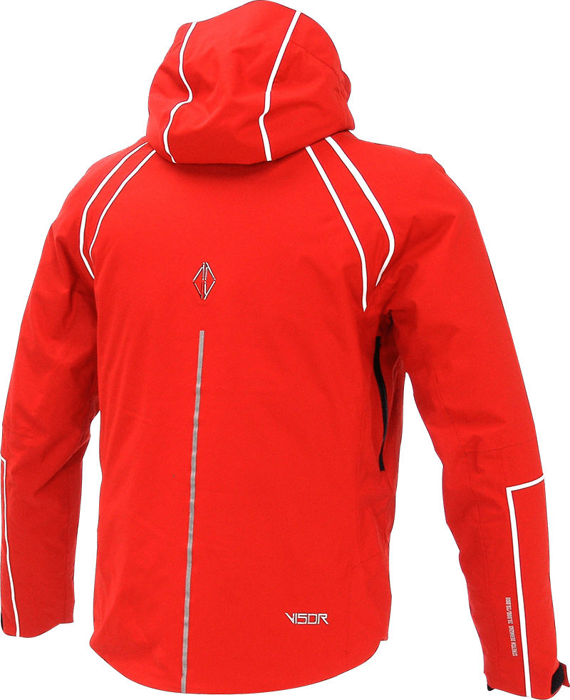 Men Legente Jacket red back