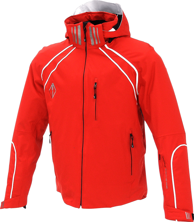 Men Legente Jacket red front
