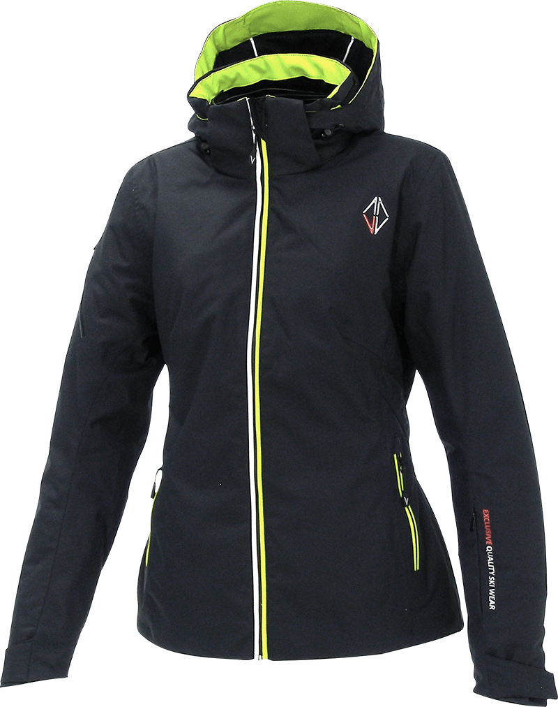 Women Nova Jacket black front