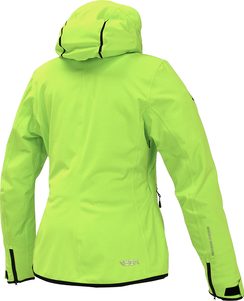 Women Nova Jacket lime back