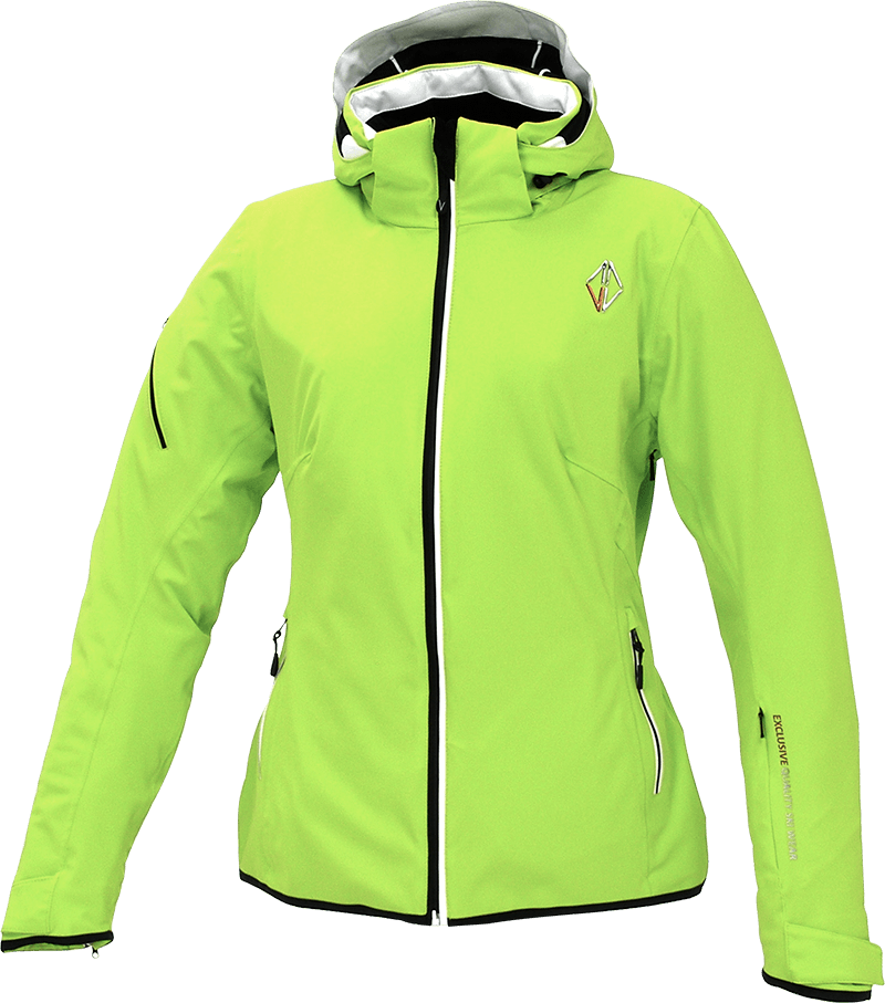 Women Nova Jacket lime front