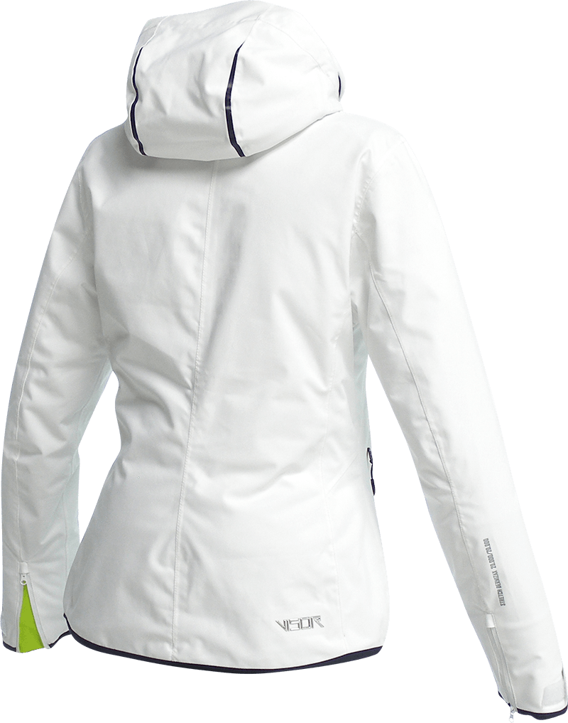 Women Nova Jacket white back