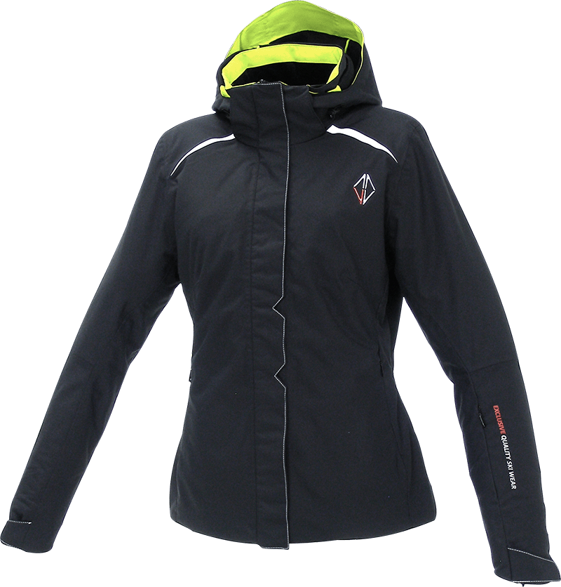Women Pure Jacket black front