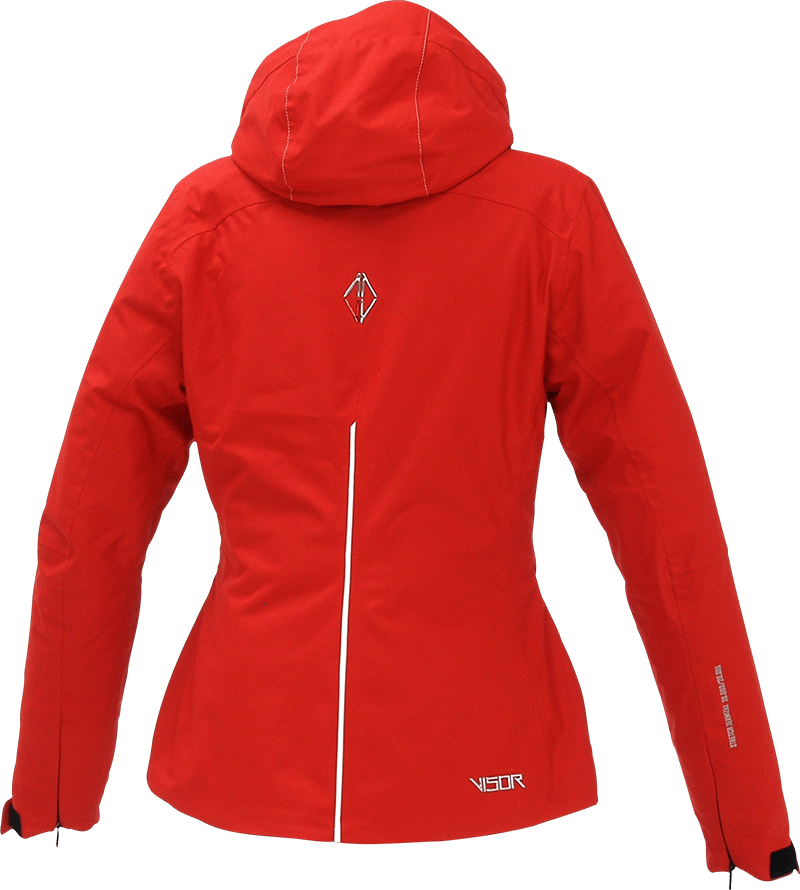 Women Pure Jacket red back