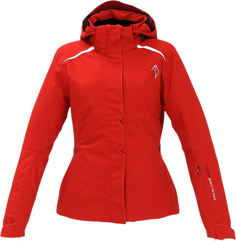 Women Pure Jacket red front