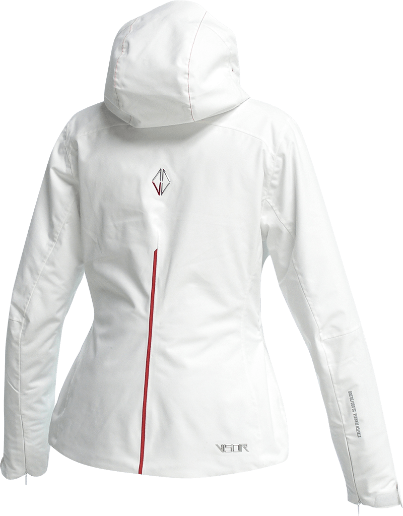 Women Pure Jacket white back