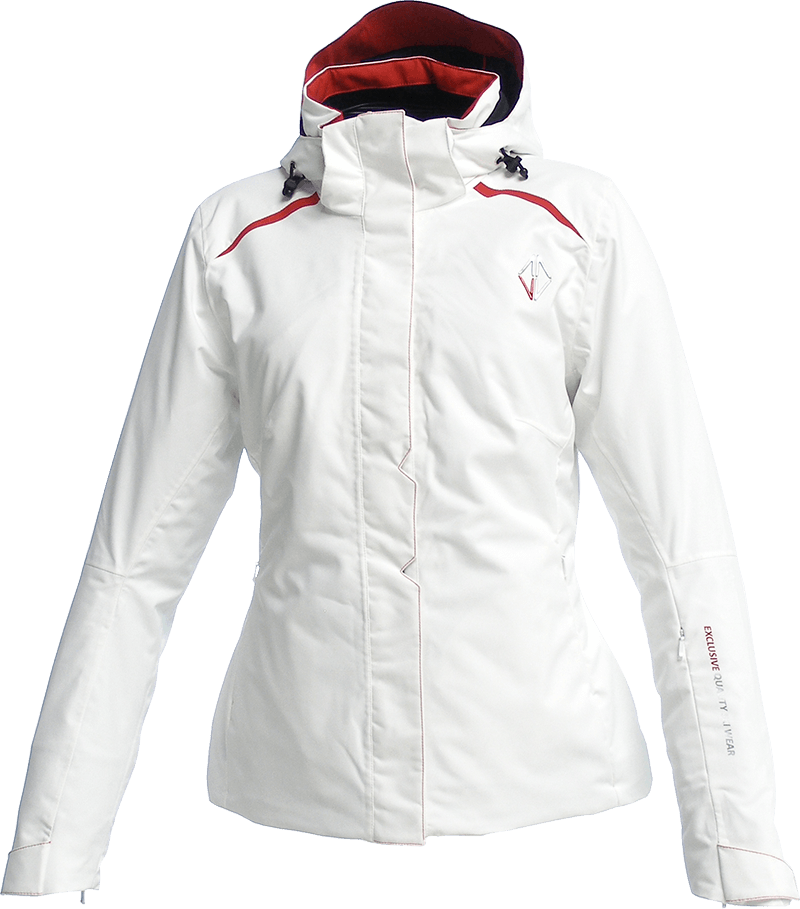 Women Pure Jacket white front