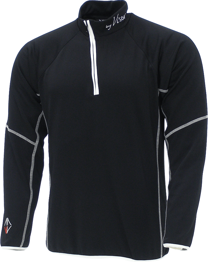 Men Sense Midlayer black front