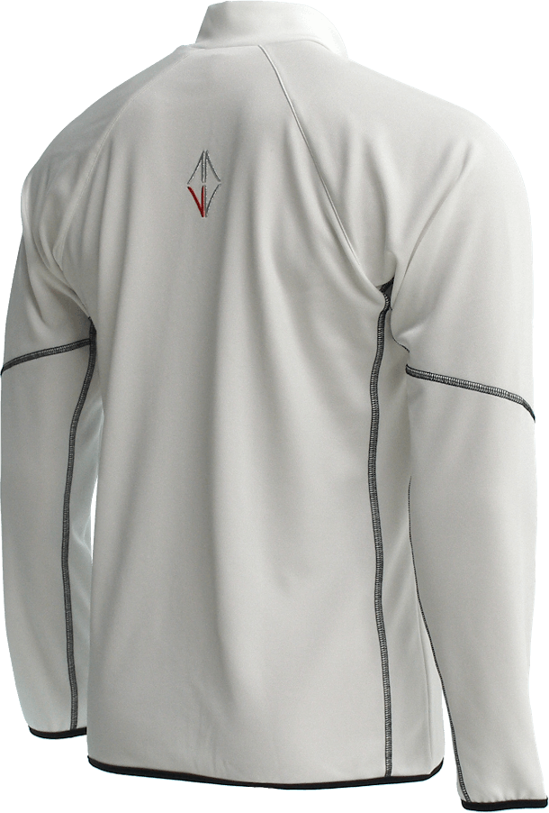 Men Sense Midlayer white back