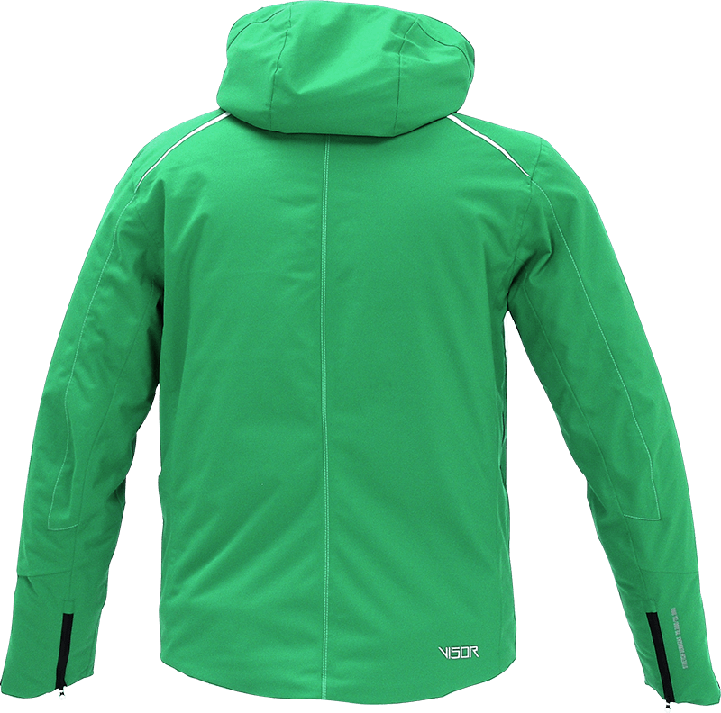 Men Supreme Jacket green back