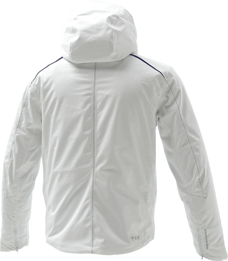 Men Supreme Jacket white back