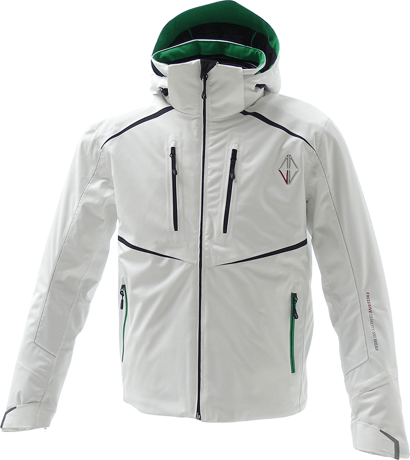 Men Supreme Jacket white front