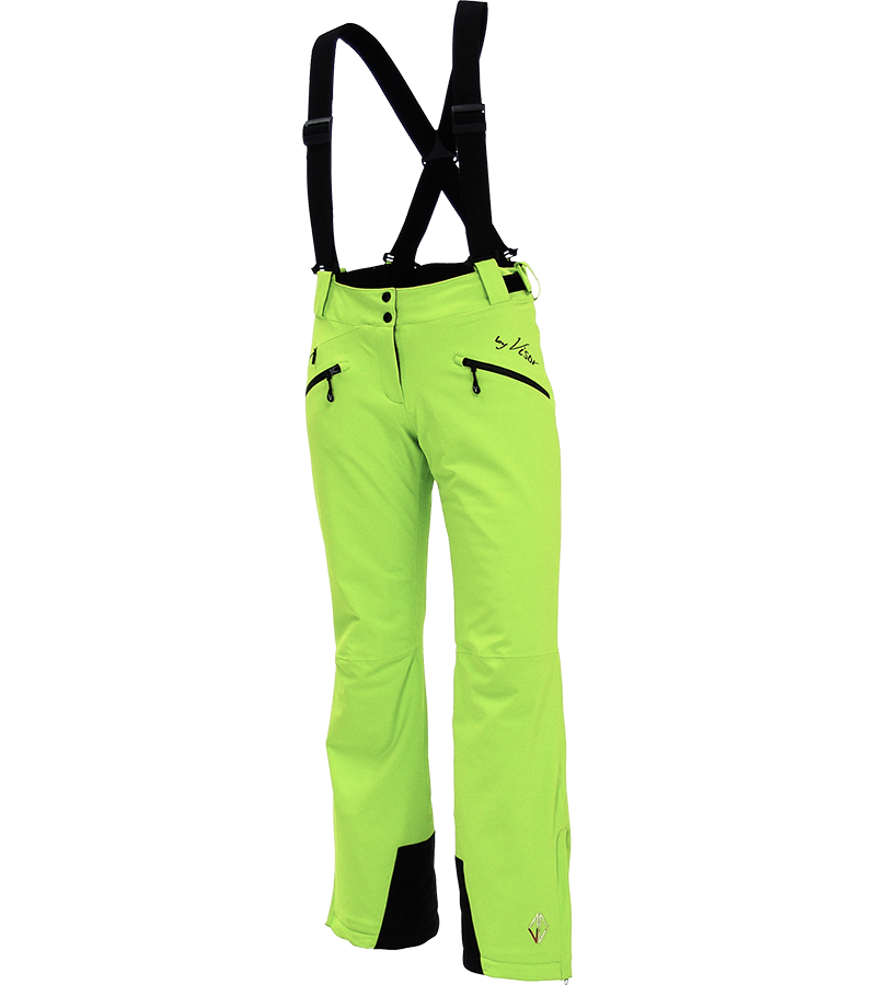 Women Elite Pants lime front