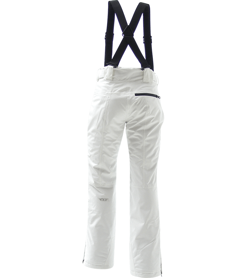 Women Elite Pants white back