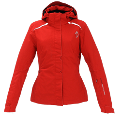 Women PURE Jacket red