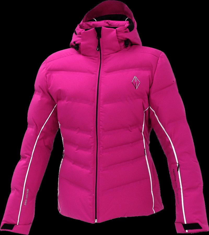 Women Lush Jacket violet front