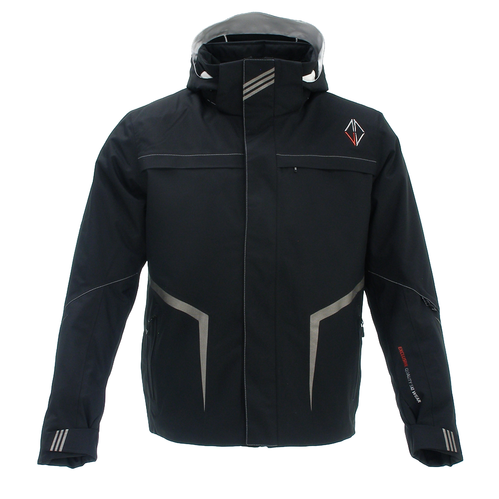 Men Aspire Jacket black front