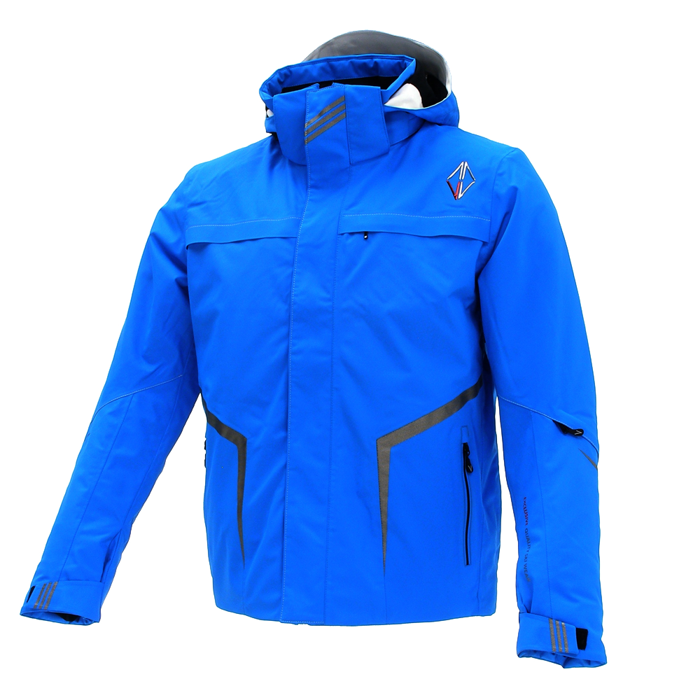 Men Aspire Jacket blue front