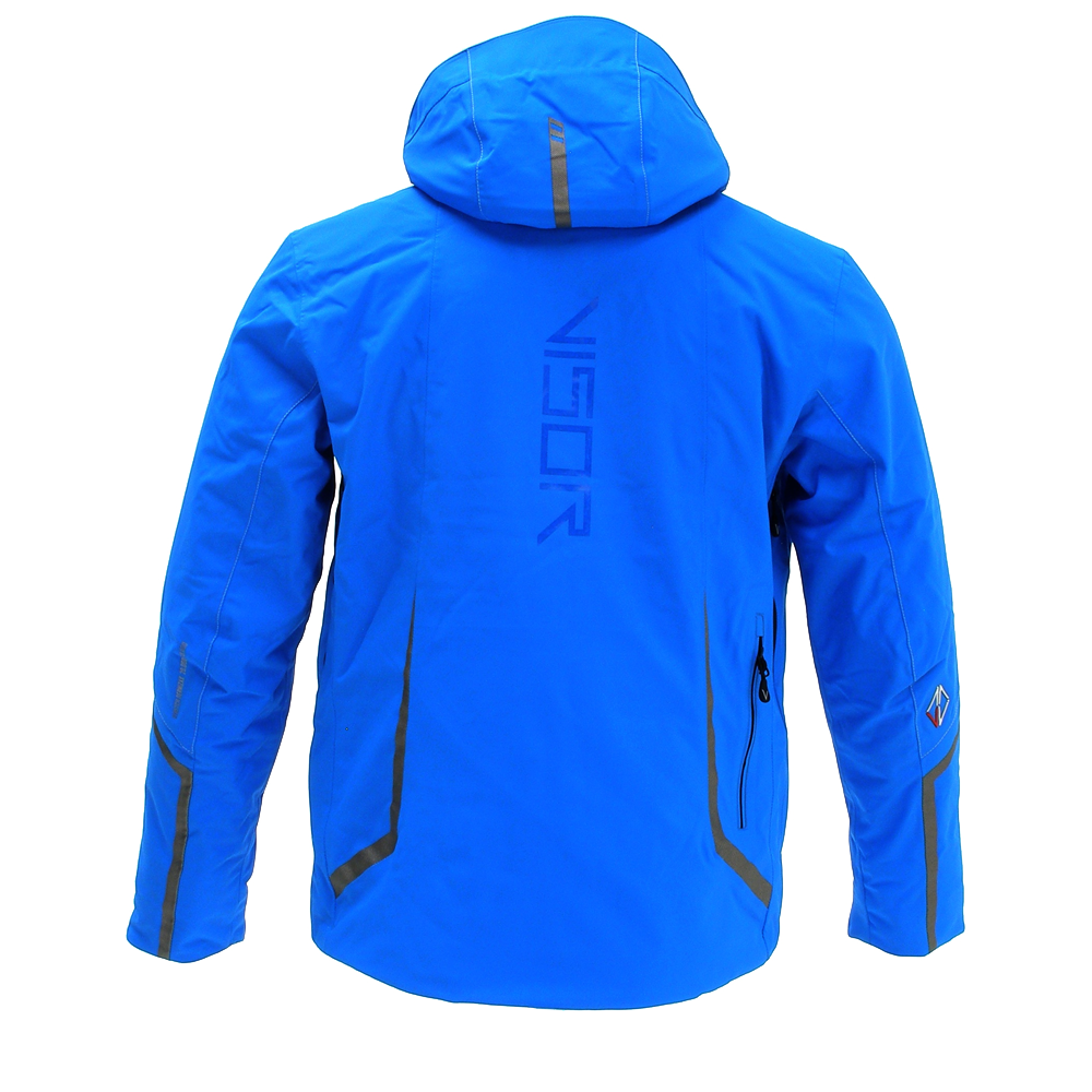 Men Aspire Jacket blue back