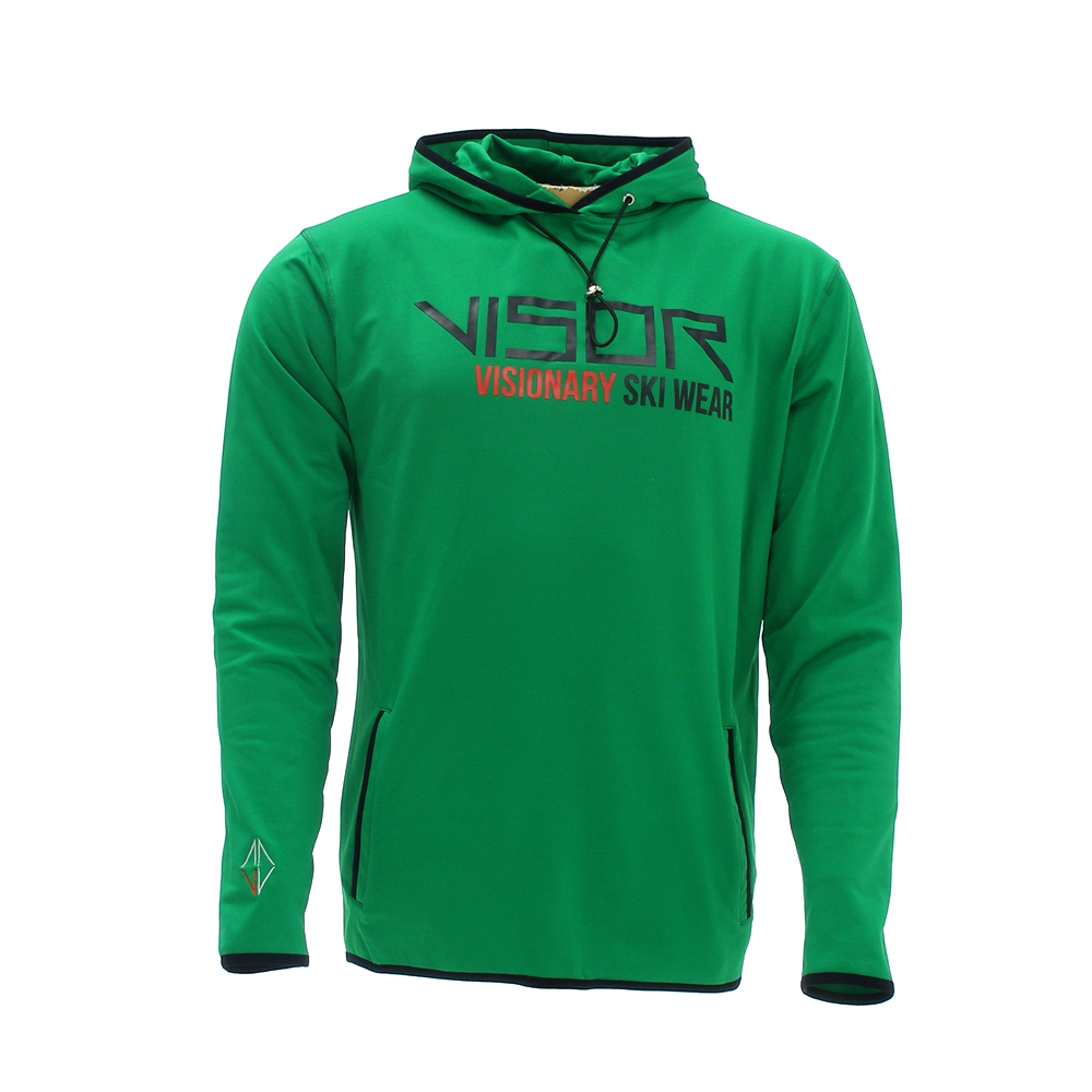 Men Dasher Hoodie green front