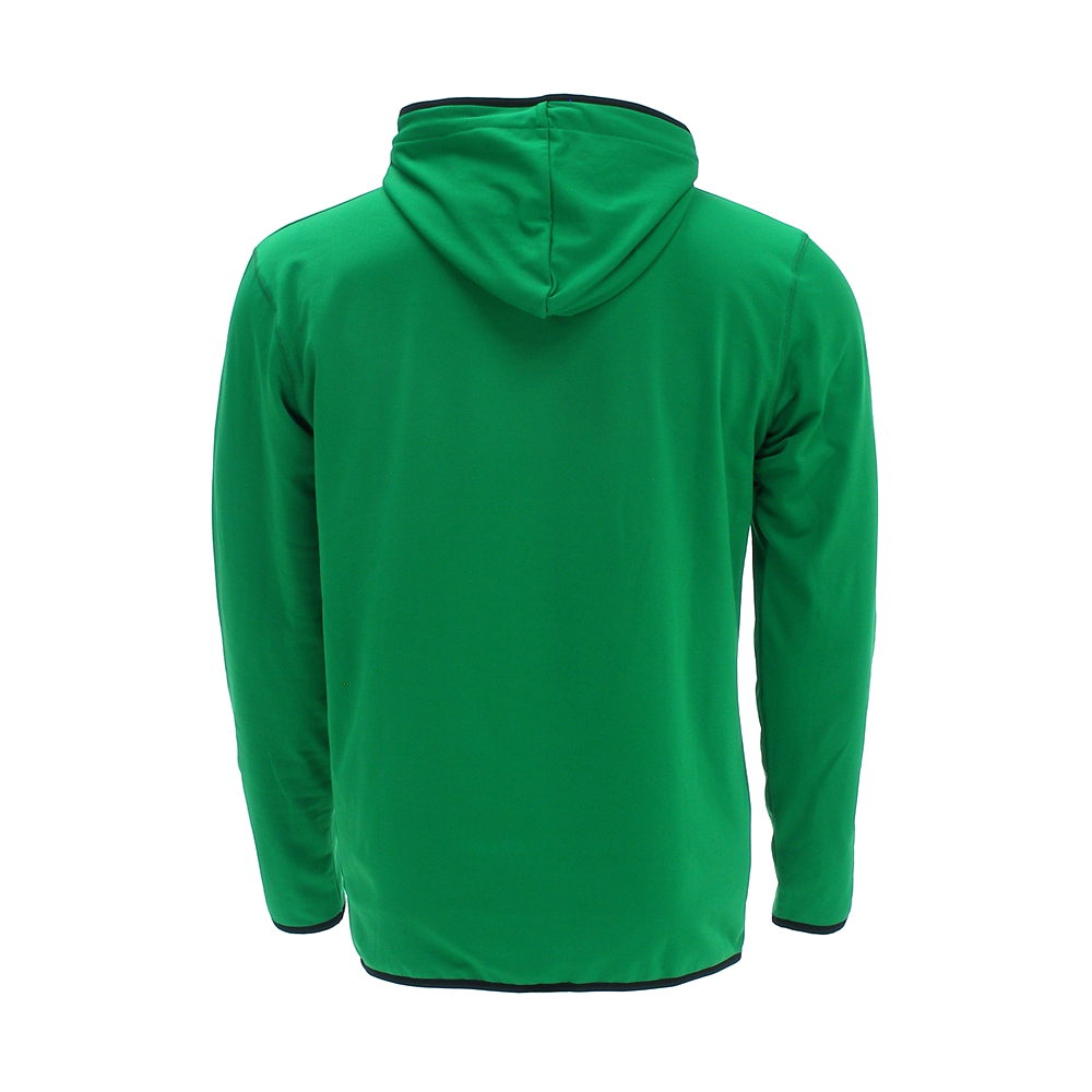 Men Dasher Hoodie green back