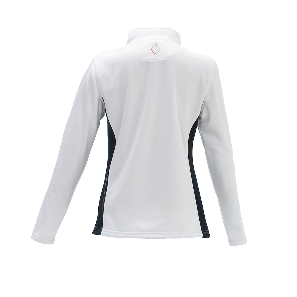 Woman Camara Midlayer white front