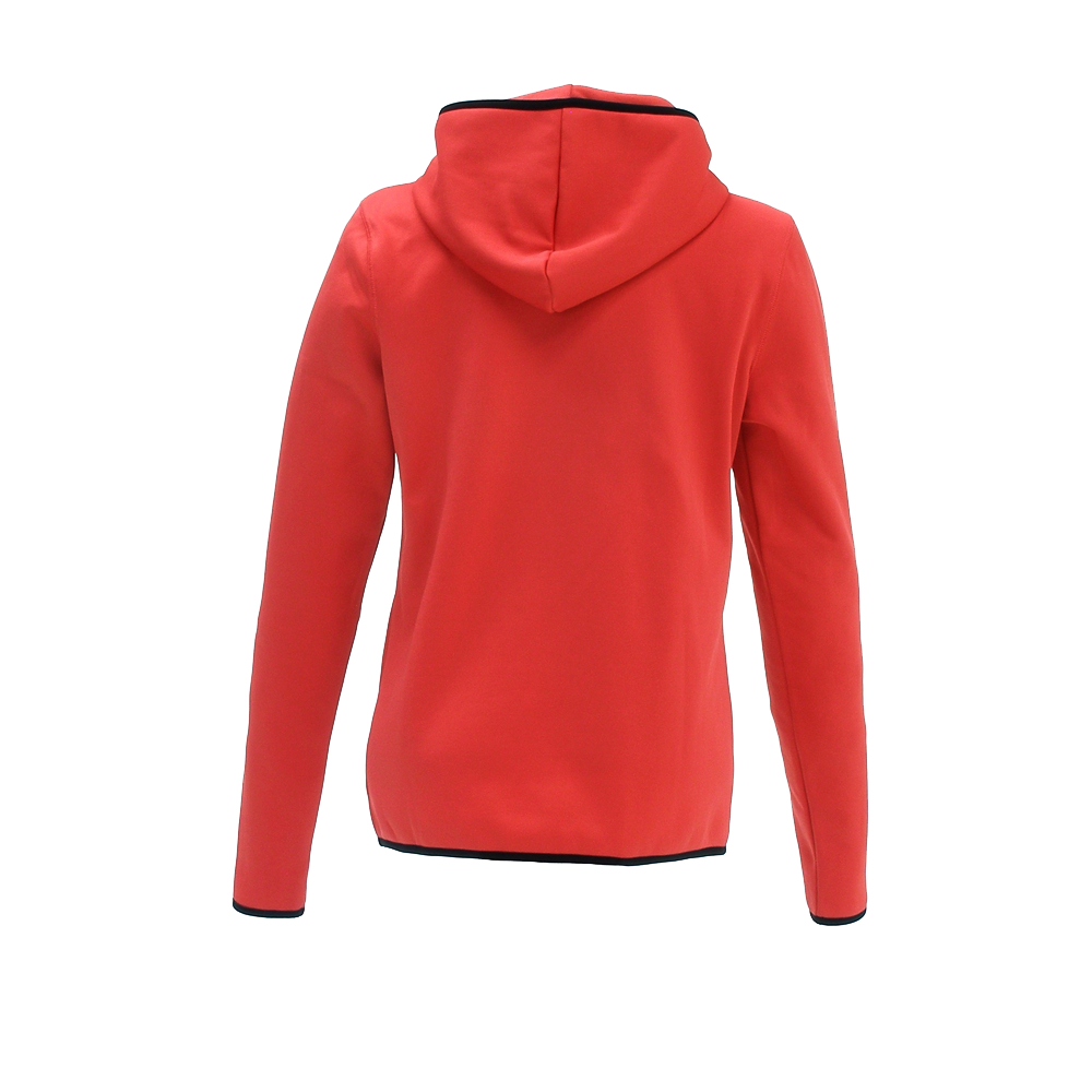 Woman Savan Hoodie teaberry back